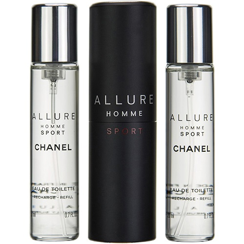 Nuoc hoa Chanel Allure Homme Travel Spray And Two Refills - EDT 60ml