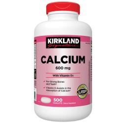 Calciumi 600mg + D3 Kirkland